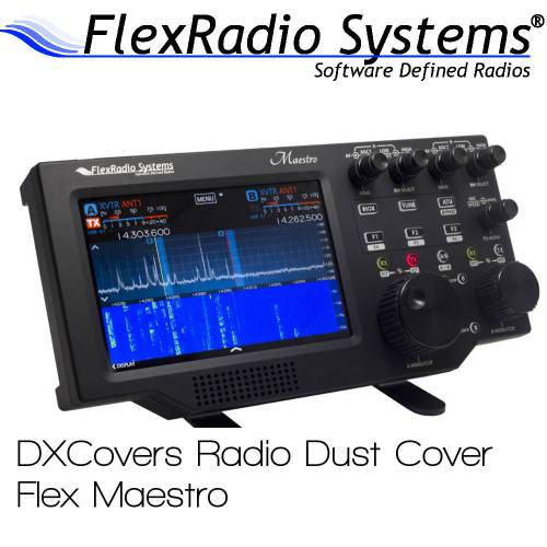 FlexRadio Systems Maestro Prism Embroidery Radio Dust Covers shop logo