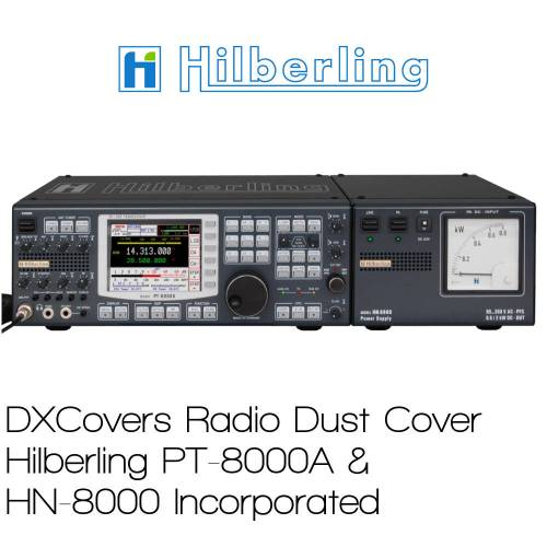 Hilberling PT-8000A & HN-8000 Prism Embroidery Radio Dust Covers shop logo