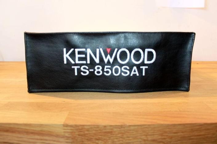 DX Covers radio dust cover for the Kenwood TS-850SAT