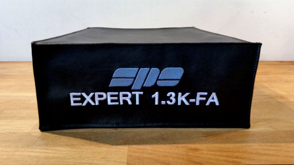 DX Covers radio dust cover for the SPE Expert 1.3K-FA