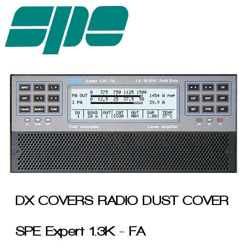 SPE Expert 1.3K-FA Prism Embroidery Radio Dust Covers shop logo