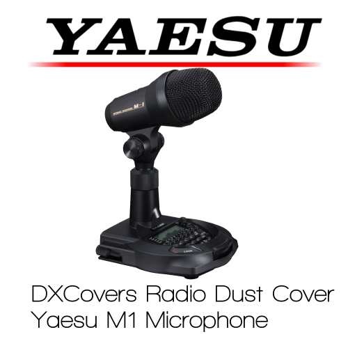 Yaesu M-1 Microphone Prism Embroidery Radio Dust Covers shop logo