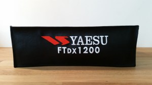 DX Covers radio dust cover for the Yaesu FTDX1200