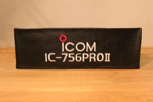 DX Covers radio dust cover for the ICOM IC-756PRO II