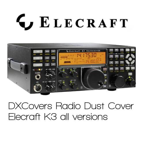 Elecraft K3 Prism Embroidery Radio Dust Covers shop logo