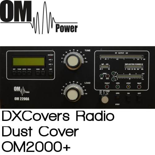 OM Power OM2000+ Prism Embroidery Radio Dust Covers shop logo