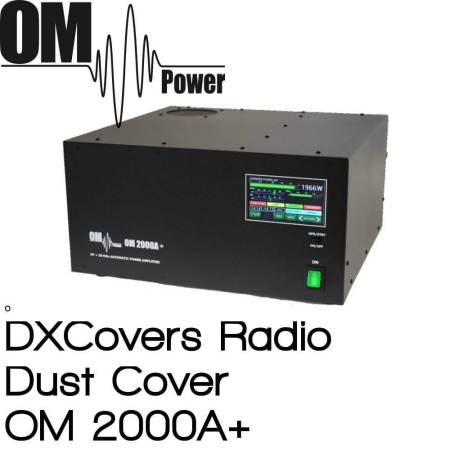 OM Power OM 2000A+ DX Covers radio dust covers