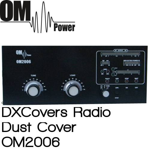 OM Power OM2006 Prism Embroidery Radio Dust Covers shop logo