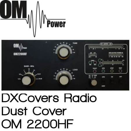 OM Power OM2200HF Prism Embroidery Radio Dust Covers shop logo