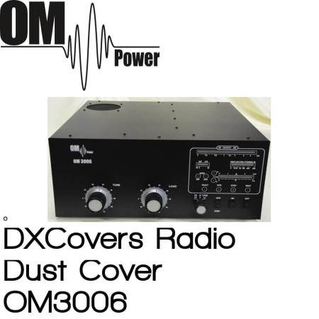 OM Power OM3006 Prism Embroidery Radio Dust Covers shop logo