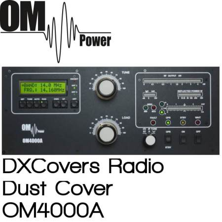 OM Power OM4000A Prism Embroidery Radio Dust Covers shop logo