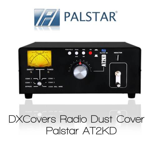 Palstar AT2KD Prism Embroidery Radio Dust Covers shop logo
