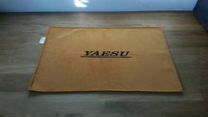 Yaesu Gold Shack Mat Radio Radio Dust cover