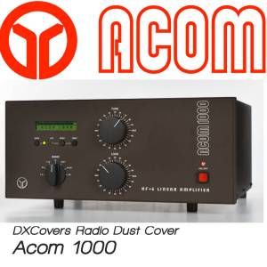 Acom 1000 Prism Embroidery Radio Dust Covers shop logo
