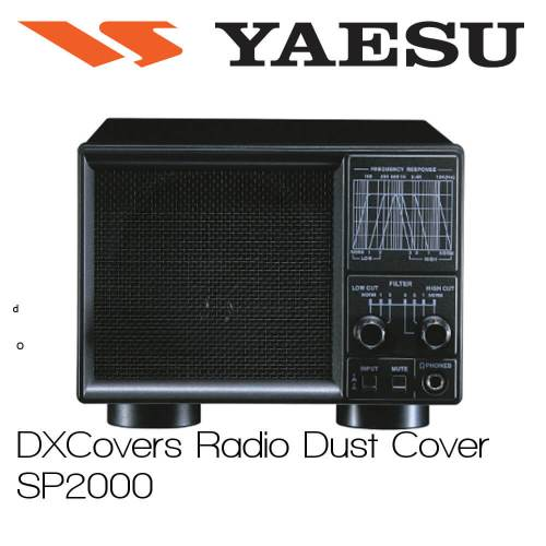 Yaesu SP-2000 Prism Embroidery Radio Dust Covers shop logo