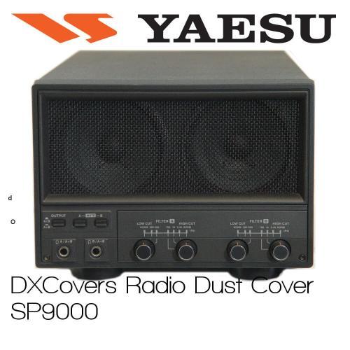 Yaesu SP-9000 Prism Embroidery Radio Dust Covers shop logo
