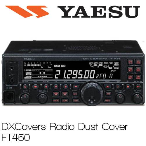 Yaesu FT-450 Prism Embroidery Radio Dust Covers shop logo