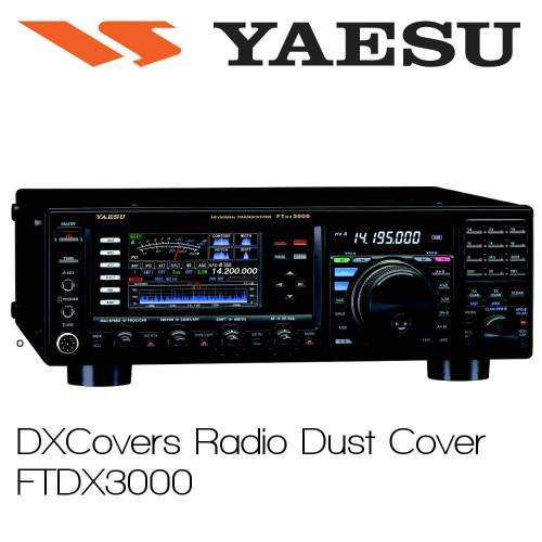 Yaesu FTDX3000 Prism Embroidery Radio Dust Covers shop logo