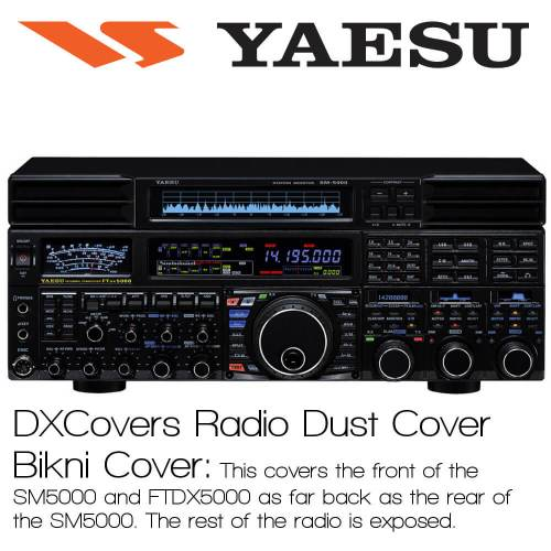 Yaesu FTDX5000 Bikini Prism Embroidery Radio Dust Covers shop logo
