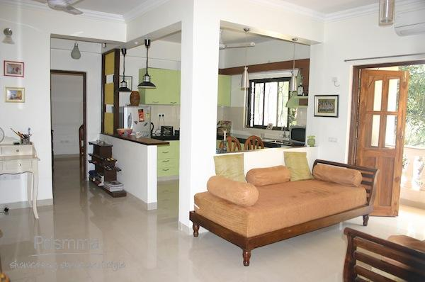 Open Kitchen Living Room Designs India