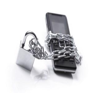 Mobile phone in prison