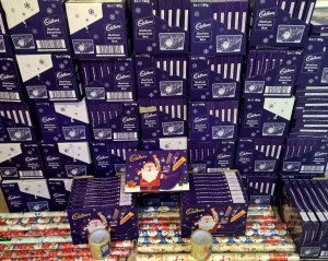 Just some of the selection boxes before we wrap them for the children of prisoners