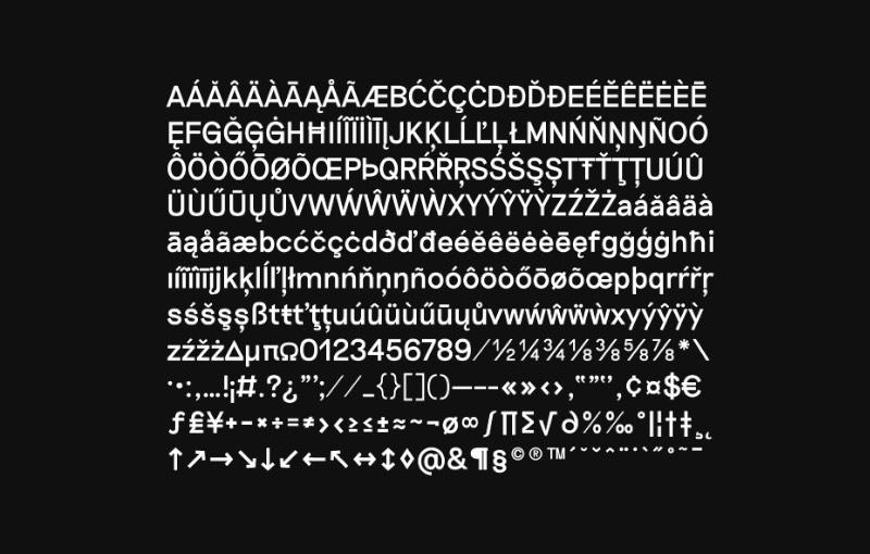 Toda a tipografia desenvolvida pelo pessoal da Good Type Foundry segue duas regras. Uma delas é que a fonte deve ser desenvolvida através de pesquisa e a outra regra é que essa tipografia deve vir com um apelo conceitual. Além disso, todas as fontes devem ser finalizadas com uma grande atenção aos detalhes e devem sair da fábrica com um estilo único.