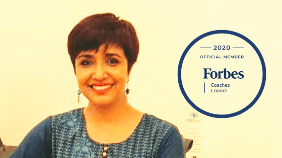 Pritha is now an Official Member of the Forbes Coaches Council