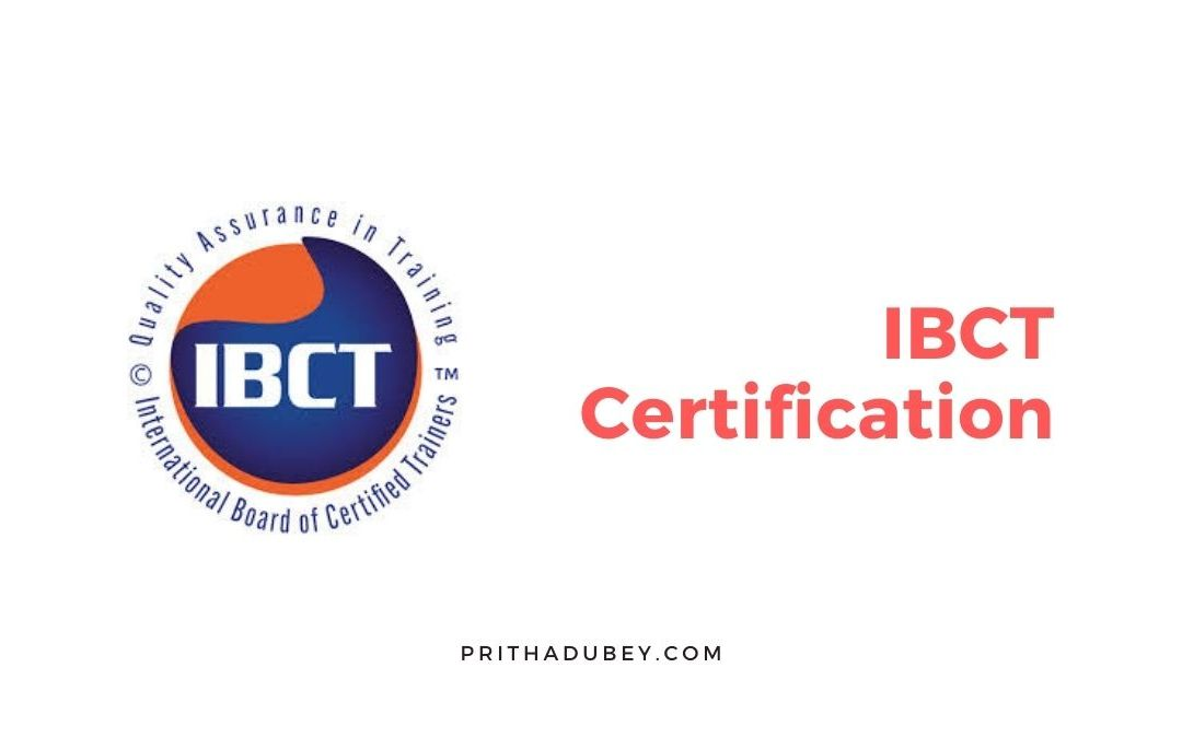 IBCT certification