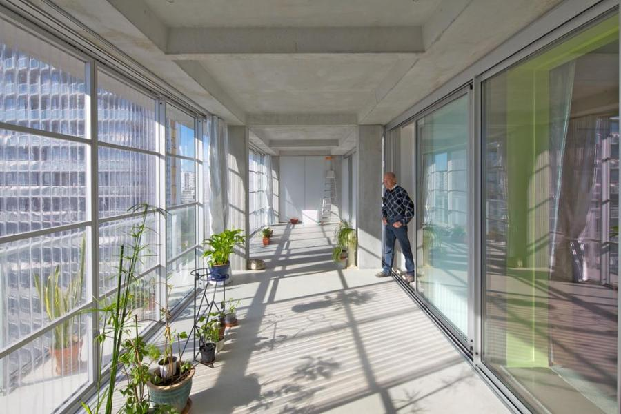 大公园G、H、I 座大楼530套公寓改造,社会住宅 (与弗雷德里克·德鲁沃和克里斯托弗·胡廷合作)