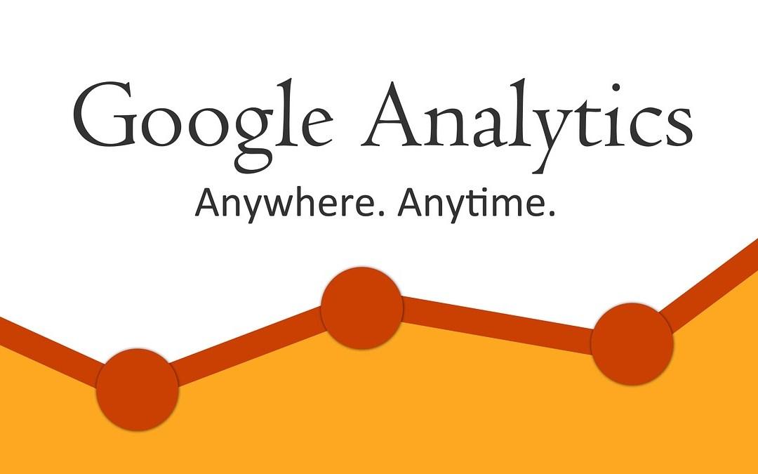 GDPR instellingen Google Analytics