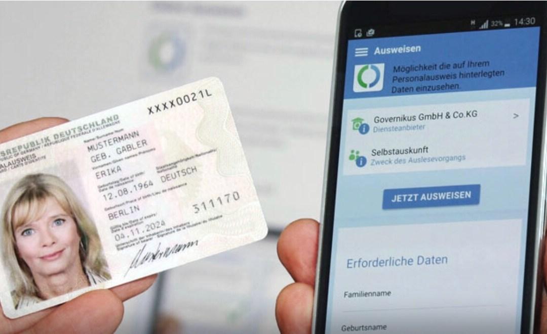 Duitsers kunnen zich vanaf dit najaar identificeren met digitale ID-kaart op iPhone