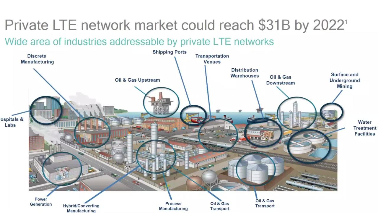 Private LTE Market