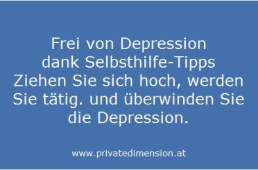 Frei von Depression