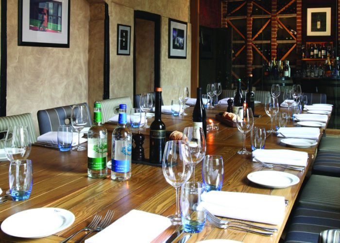 Luxury Private Dining Rooms At Malmaison Oxford