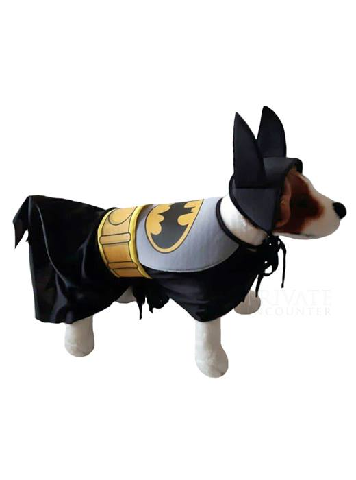 Rubies Batman Comic Con Superhero Dog Puppy Pet Costume Medium