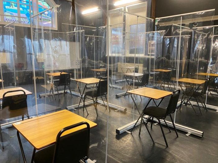One of our exam safety studios