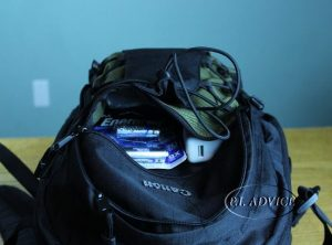 Canon Backpack front pocket