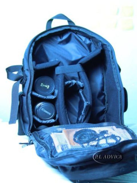 Canon Backpack main compartment
