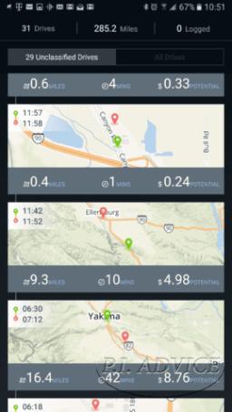 Mileage Tracker Zus
