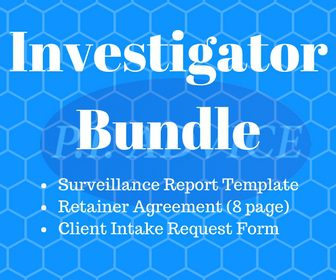 7 ways to build experience and land a private investigator job for Private investigator surveillance report template