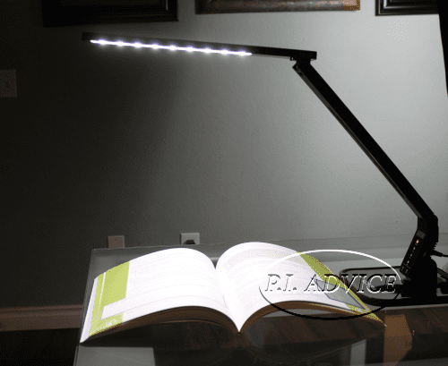 Tilted Dimmable LED Light