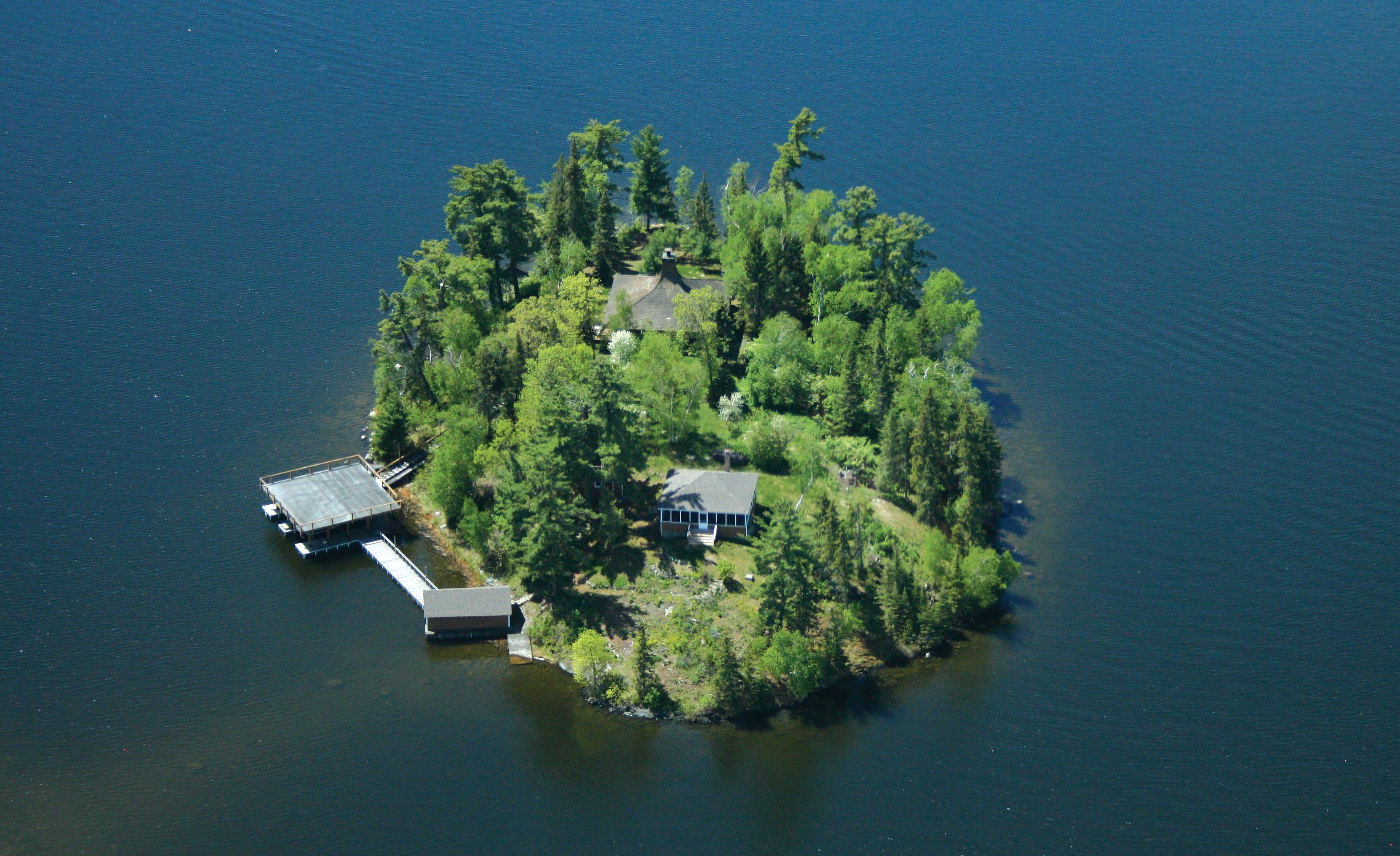 Yacht Club Island Northern Ontario Ontario Canada