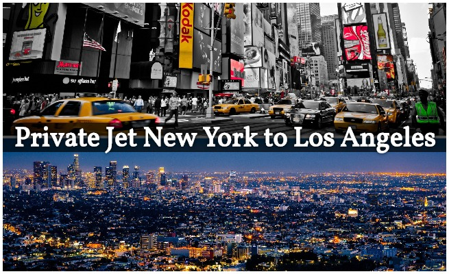 Private Jet From New York To Los Angeles Ny To La