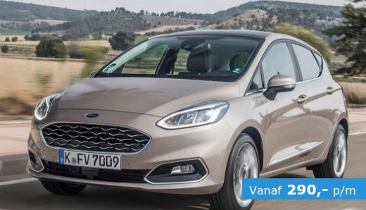 ford fiesta trend private lease