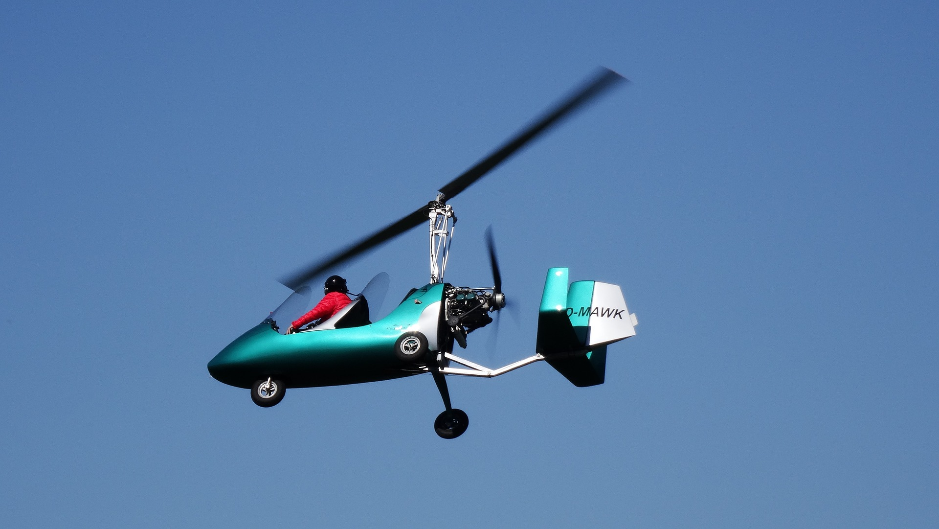 Where to fly in a gyrocopter