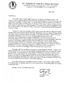 May Letter