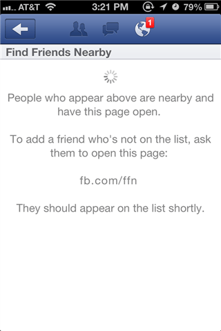 finding new friends nearby with facebook the social media privacy