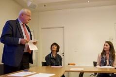 Le président du jury, M. Luc MORELON
