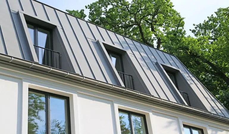 prix d une toiture en zinc cout moyen